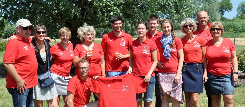 Equipe du centre de formation de chiens guides de Koksijde